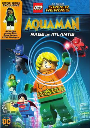 LEGO DC Comics Супер герои: Аквамен - Ярость Атлантиды (видео) / LEGO DC Comics Super Heroes: Aquaman - Rage of Atlantis